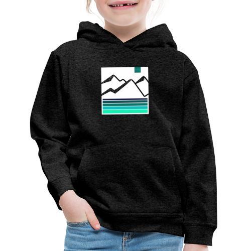Mountain Blues - Kids' Premium Hoodie