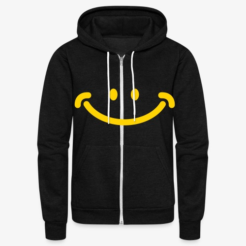 Happy Mug - Unisex Fleece Zip Hoodie