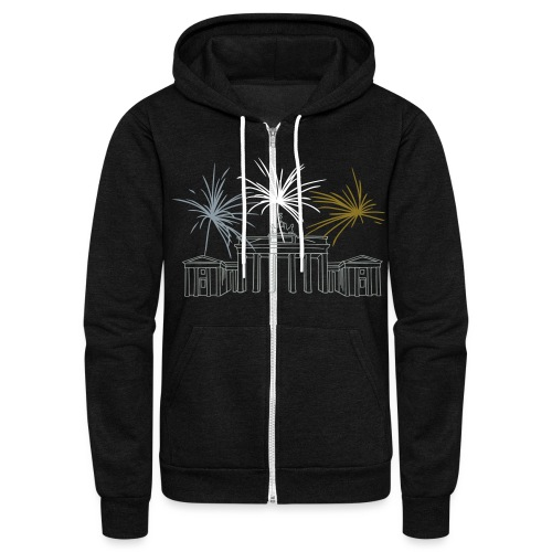 Brandenburg Gate Berlin - Unisex Fleece Zip Hoodie