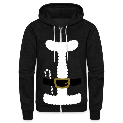 SANTA CLAUS SUIT - Men's Polo Shirt - Unisex Fleece Zip Hoodie