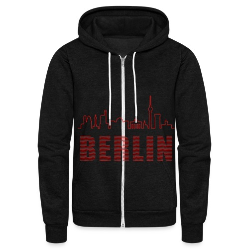 Skyline of Berlin - Unisex Fleece Zip Hoodie