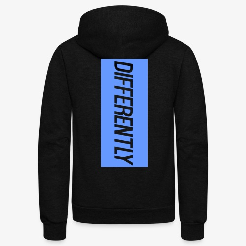 Differently Large Bogo - Unisex Fleece Zip Hoodie