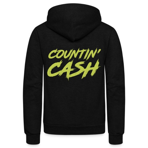 COUNTIN CASH T SHIRT FRONT - Unisex Fleece Zip Hoodie