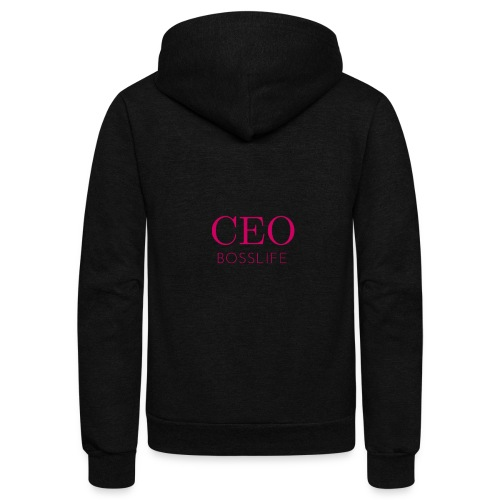 Bosslife CEO - Unisex Fleece Zip Hoodie
