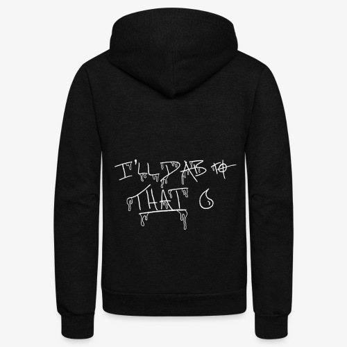 ill dab to that inv - Unisex Fleece Zip Hoodie