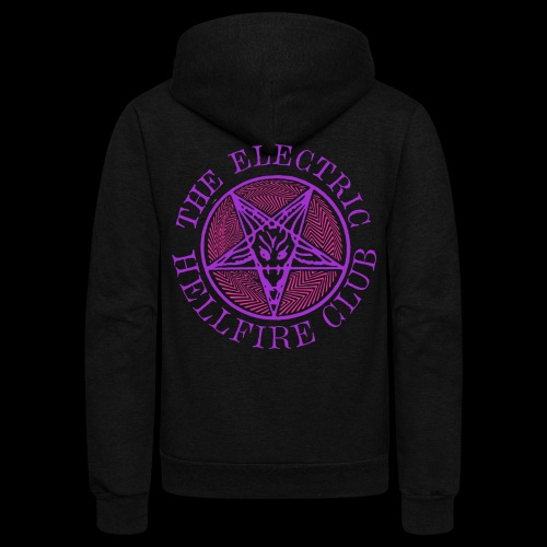 Electric Hellfire Club 2 - Unisex Fleece Zip Hoodie