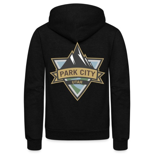 Park City, Utah - Unisex Fleece Zip Hoodie