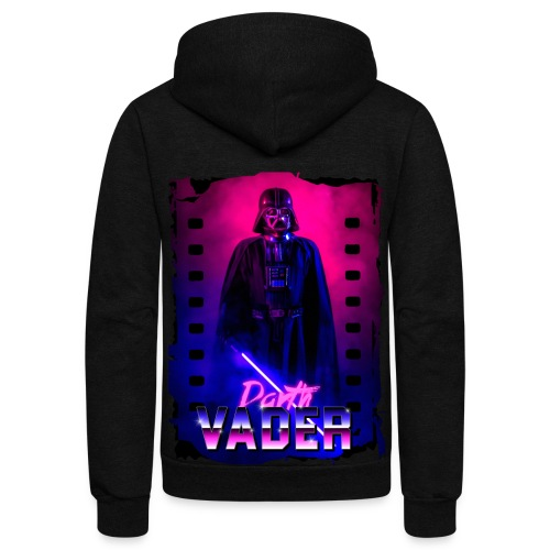 Retro Wave 5 - Unisex Fleece Zip Hoodie
