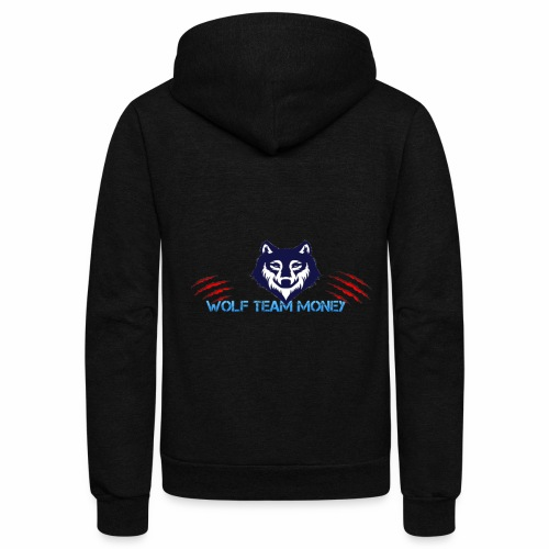 Wolf Team - Unisex Fleece Zip Hoodie