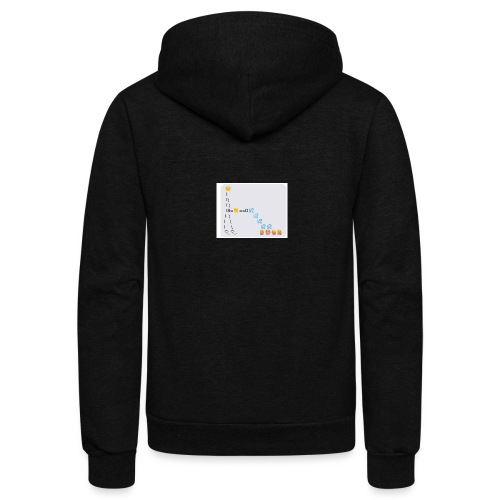 PD Cover Art - Unisex Fleece Zip Hoodie