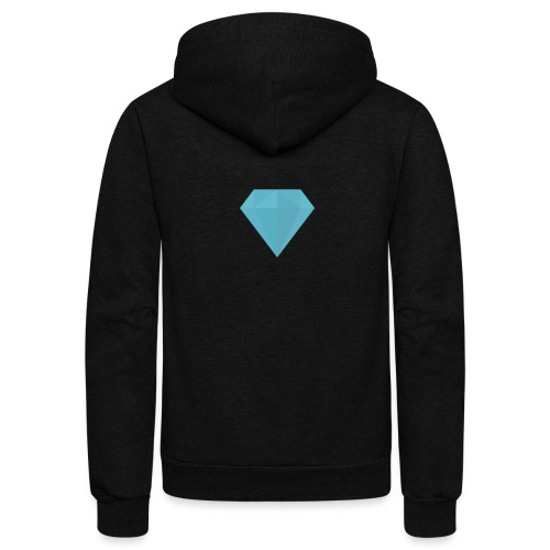 long sleeve Diamond shirt - Unisex Fleece Zip Hoodie