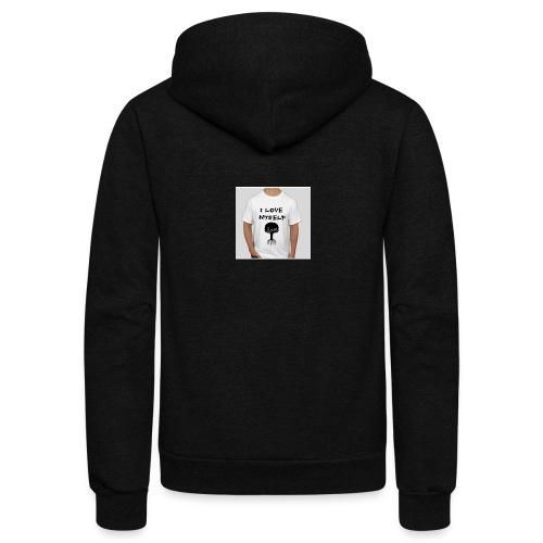 love myself - Unisex Fleece Zip Hoodie