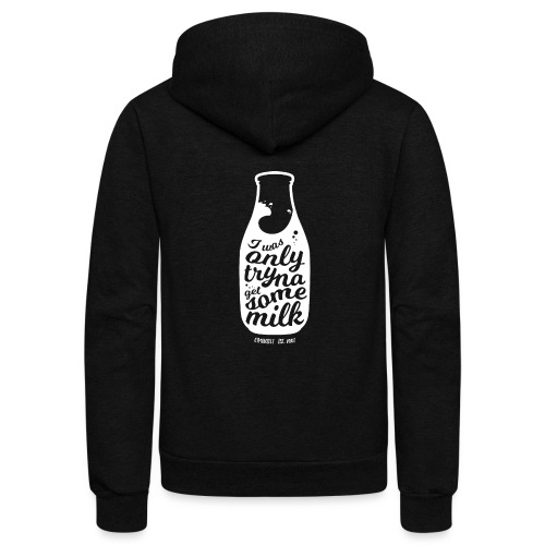 Tryna Get Some Milk - Unisex Fleece Zip Hoodie