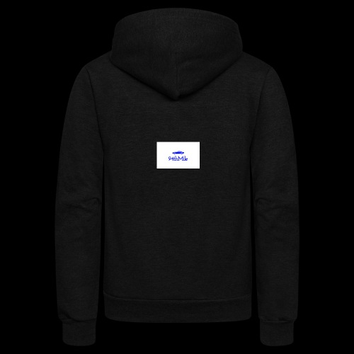 Blue 94th mile - Unisex Fleece Zip Hoodie