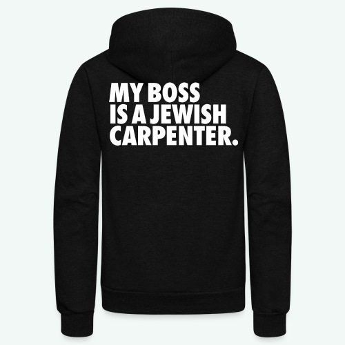 MY BOSS - Unisex Fleece Zip Hoodie