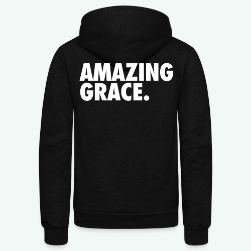 AMAZING GRACE - Unisex Fleece Zip Hoodie