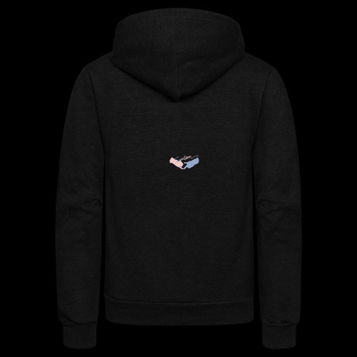Black T-Shirt - Seventeen - Unisex Fleece Zip Hoodie
