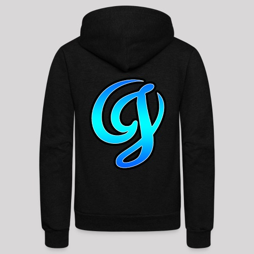 Cool Big Logo - Unisex Fleece Zip Hoodie