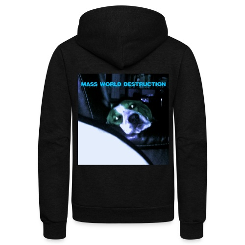 Mass World Depression - Unisex Fleece Zip Hoodie