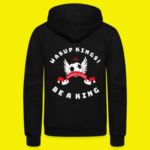 Yonal King Unisex Jacket - Unisex Fleece Zip Hoodie