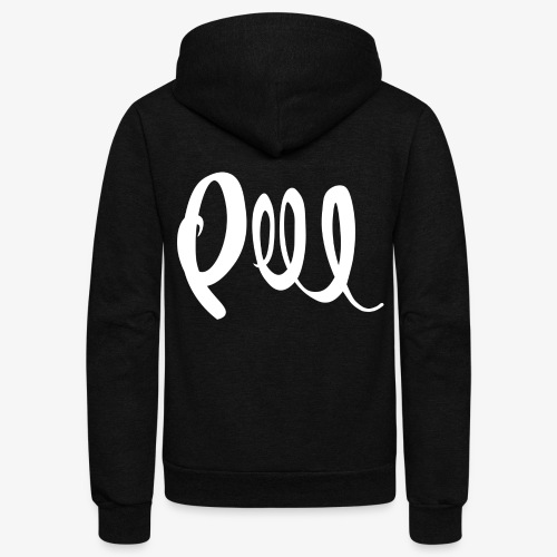 Peel Collection - Unisex Fleece Zip Hoodie
