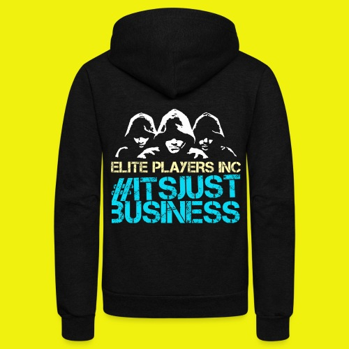 ElitePlayersInc Basic Design - Unisex Fleece Zip Hoodie