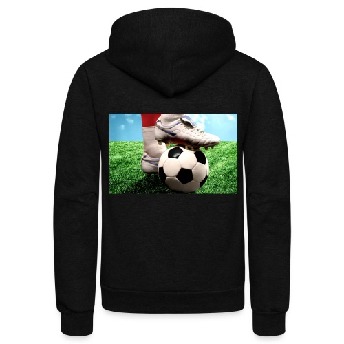 Let's Football 2018 - Unisex Fleece Zip Hoodie