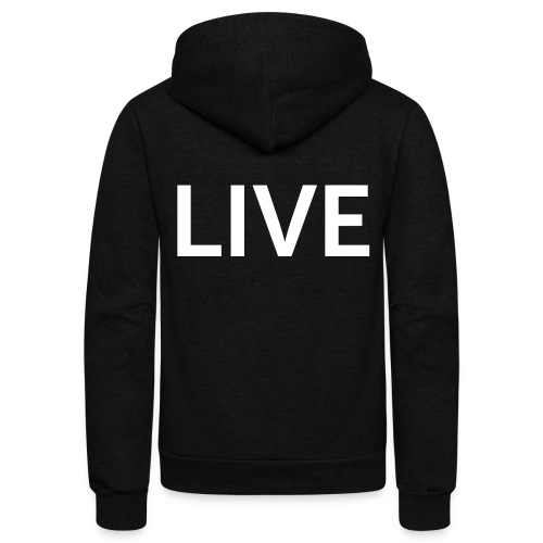 We are LIVE - Unisex Fleece Zip Hoodie