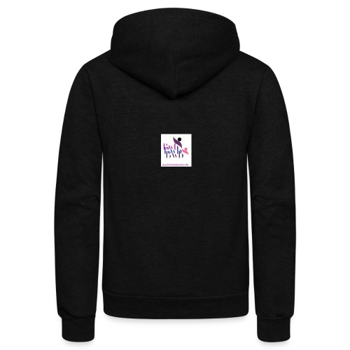 Black Women in Business - Unisex Fleece Zip Hoodie
