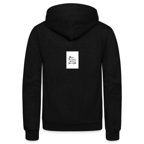 Throw kindness around - Unisex Fleece Zip Hoodie