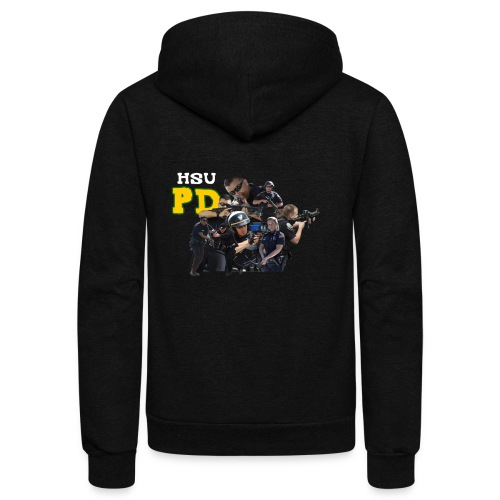 HSU PD FULL FORCE - Unisex Fleece Zip Hoodie