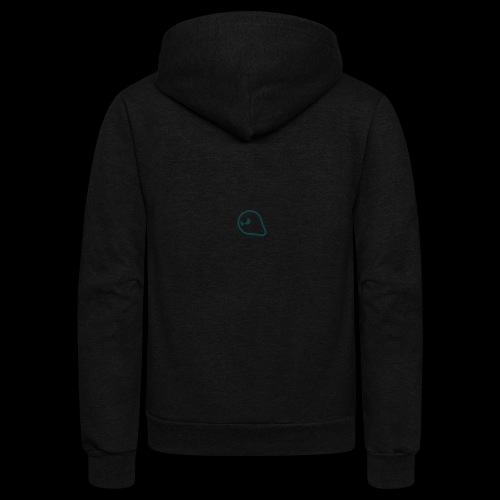 ghost - Unisex Fleece Zip Hoodie