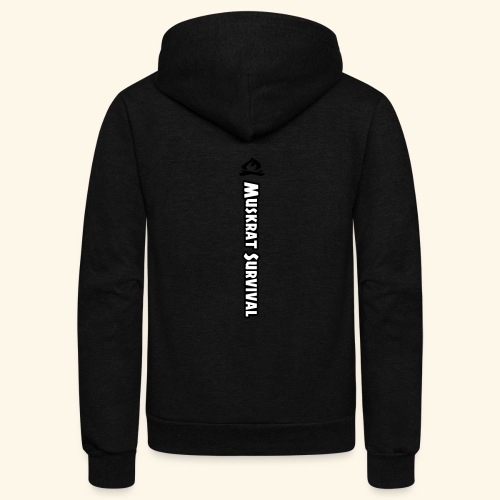 Muskrat Survival Tall - Unisex Fleece Zip Hoodie