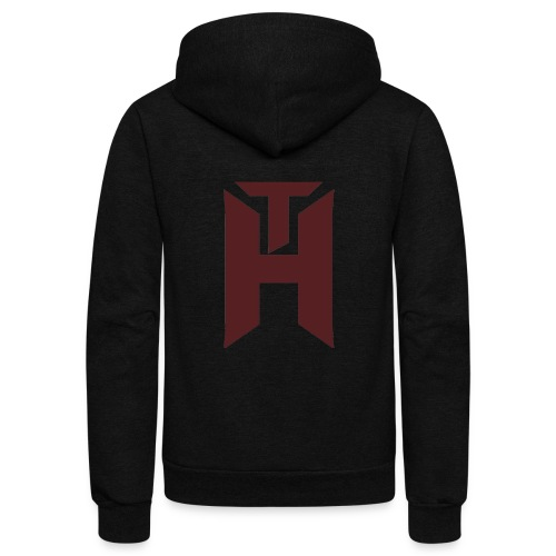 The Hybrids Logo - Unisex Fleece Zip Hoodie