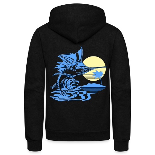 Sailfish - Unisex Fleece Zip Hoodie