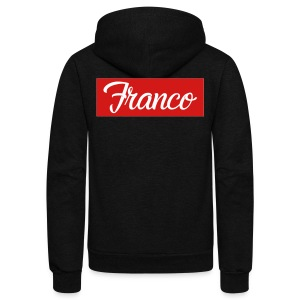 Franco Block - Unisex Fleece Zip Hoodie