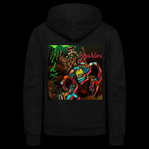 Roatyrant - MechaniKrab - Unisex Fleece Zip Hoodie