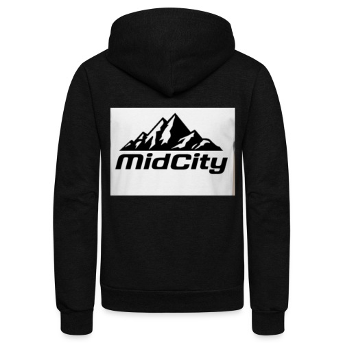 MidCity Apparel - Unisex Fleece Zip Hoodie