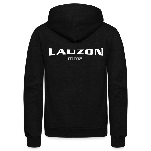 lauzonmma logo svg - Unisex Fleece Zip Hoodie