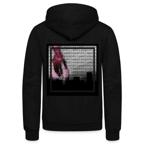 whamandslam - Unisex Fleece Zip Hoodie