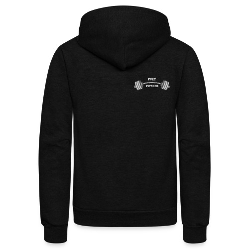 Fury Fitness - Unisex Fleece Zip Hoodie