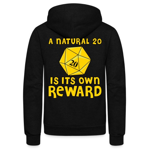 Natural Twenty - Unisex Fleece Zip Hoodie