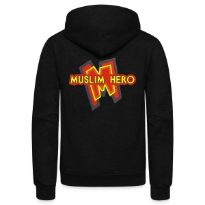 MUSLIM HERO - Unisex Fleece Zip Hoodie