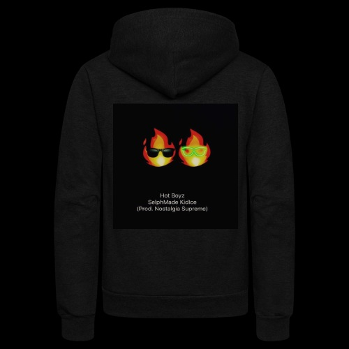 KIDICE HOTBOYZ cover art - Unisex Fleece Zip Hoodie