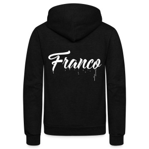 Franco Paint - Unisex Fleece Zip Hoodie