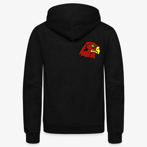 The Hawk - Unisex Fleece Zip Hoodie
