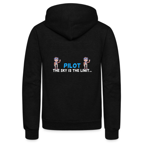 Pilot - Unisex Fleece Zip Hoodie