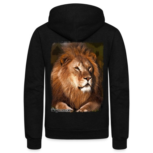 Regal Lion - Unisex Fleece Zip Hoodie