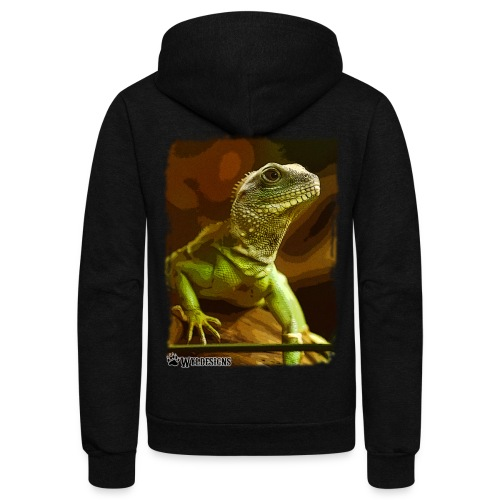 Water Dragon - Unisex Fleece Zip Hoodie