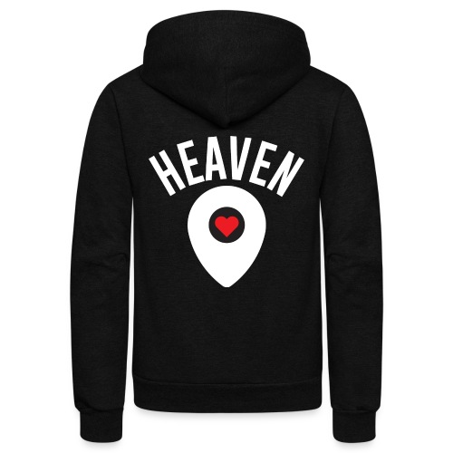 Heaven Is Right Here - Unisex Fleece Zip Hoodie
